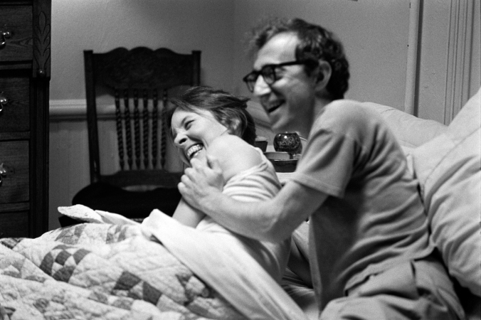 annie hall laughing