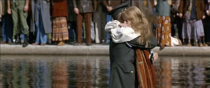 water hug