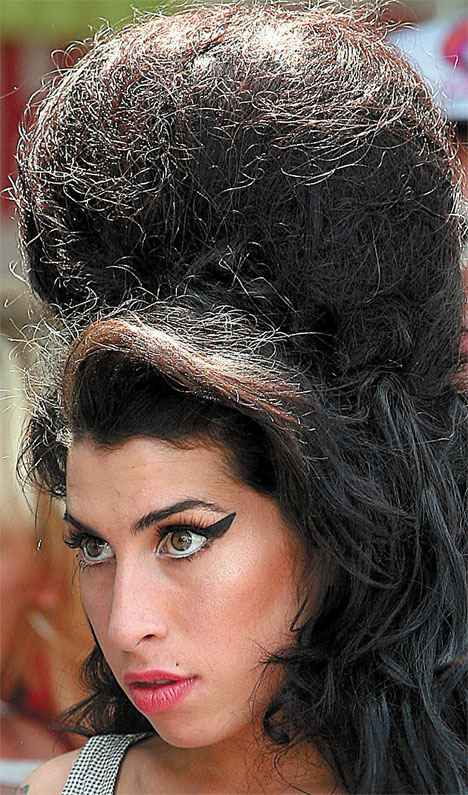 Winehouse-beehive