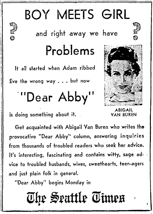 write to dear abby