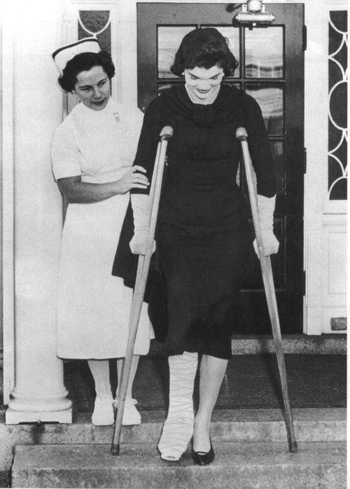 jackie o crutches