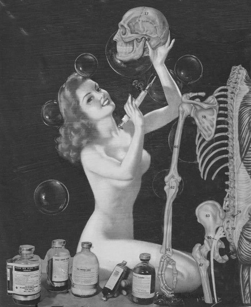 science-of-sex-skeleton-and-pinup-girl