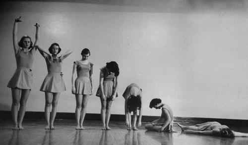dancers collapsing