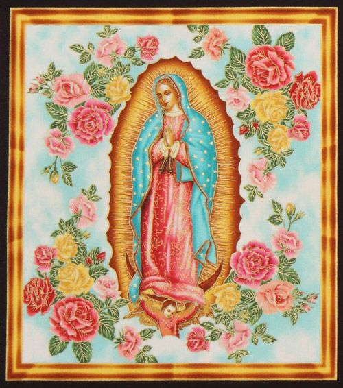 beautiful-colourful-Virgin-Mary-fabric-Robert-Kaufman-161251-5