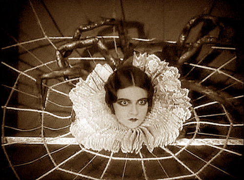 2 Todd Browning The Show 1927 Arachnadia! The Human Spider closeup